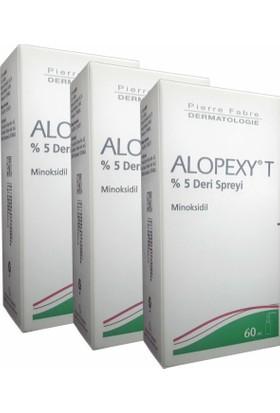 Alopexy T %5 Deri Spreyi 60 Ml 3 Lü Paket