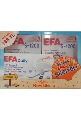 New Life Efa S 1200 2 Adet Alana + Efa Daily 30 Kapsül Hediye