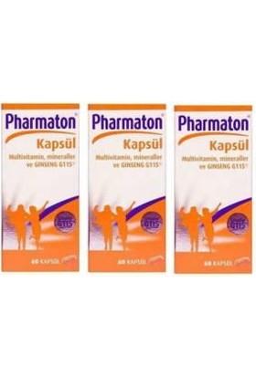 Pharmaton60Kapsül 3 Adet