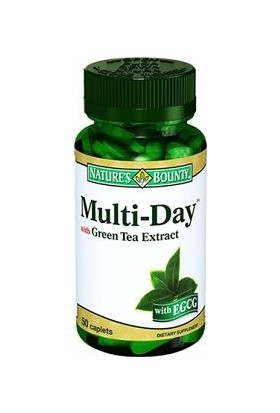 Nature'S Bounty Multi-Day With Green Tea Extract 50 Kaplet