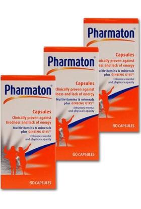 Pharmaton 60 Kapsül 3 Adet