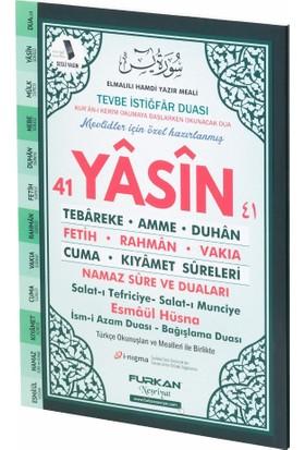 Furkan Neşriyat 80 Sayfa Orta Boy Karşılıklı Türkçeli Yasin-i Şerif (Yeşil)