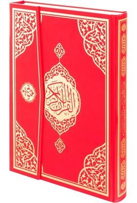 Furkan Neşriyat Sesli Çanta Boy Kuran-ı Kerim (Kırmızı)