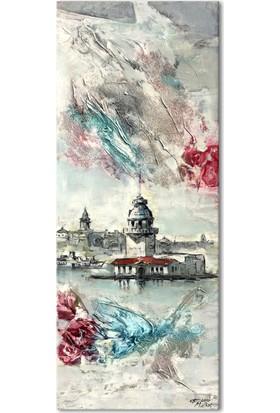 Hepsiburada Home İstanbul Kız Kulesi Kanvas Tablo