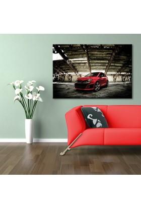 Hepsiburada Home Spor Araba Kasnaklı Poster Tablo