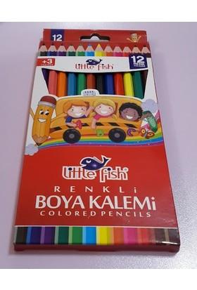 Little Fish 12'li Tam Boy Kuru Boya