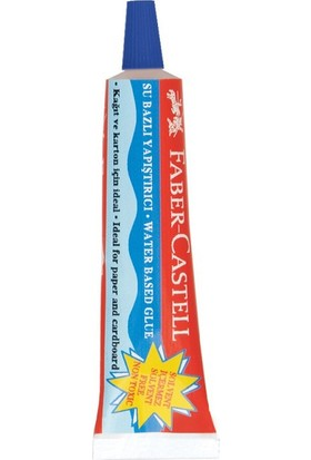 Faber Castell 19 gr. Sıvı Yapıştırıcı Solvent İçermez