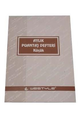 Westyle Özkan Aylık Puantaj Defteri 10,5x15 cm