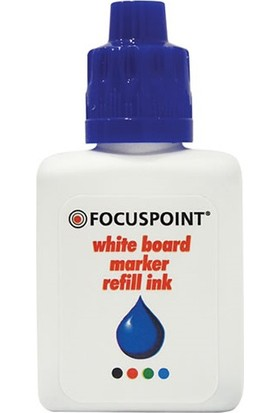 Focuspoint 28 cc Tahta Kalemi Mürekkebi Mavi (FOCUSPOINT)