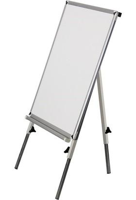 İnter Alm Çerçeve Manyetik Yüzeyli Ayaklı Yazı Tahtası 50x70 cm