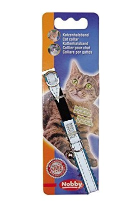 Nobby Kedi Boyun Tasması Turkuaz Reflektörlü 1 X 20-30 cm