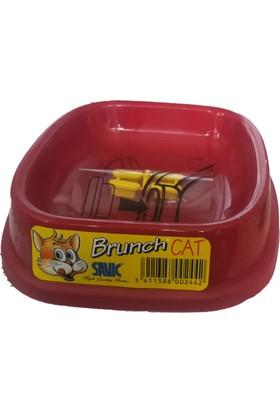 Savic Brunch Cat Kedi Plastik Mama ve Su Kabı 0.2 ml