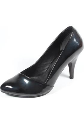 Ella 255-113 Siyah Kadın Topuklu Ayakkabı