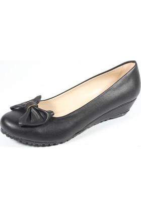 Ella 255-13 Siyah Kadın Topuklu Ayakkabı