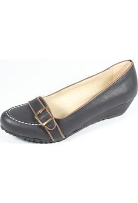 Ella 255-10 Siyah Kadın Topuklu Ayakkabı