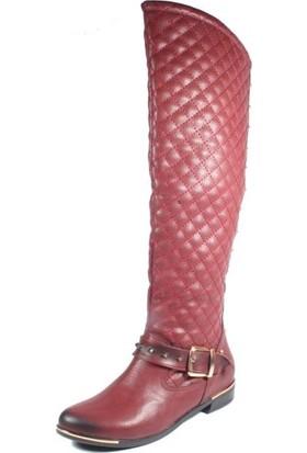 Avon St11-170 Bordo Kadın Çizme