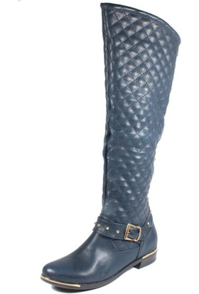Avon St11-170 Lacivert Kadın Çizme