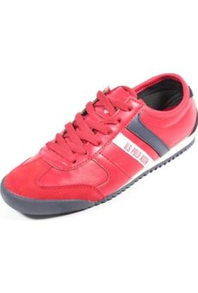 U.S. Polo Assn. Napa Kırmızı Kadın Ayakkabı