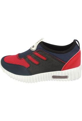 Feybil 905 Lacivert Kırmızı Çocuk Erkek Ayakkabı