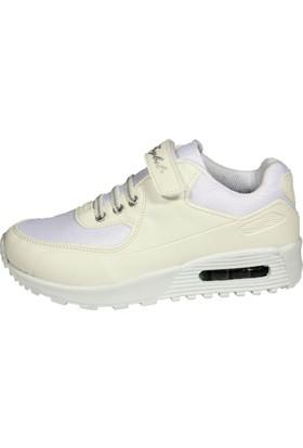 Feybıl 640 Filet Anarok Beyaz Çocuk Erkek Ayakkabısı