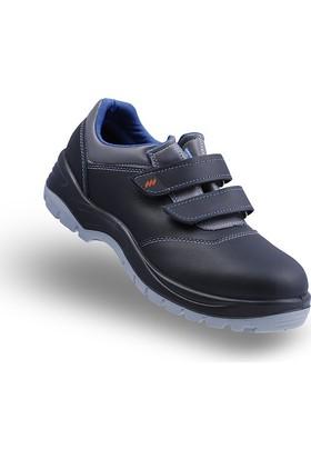 Mekap 108 Deri Çelik Burunlu İş Ayakkabısı