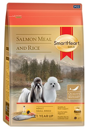 SmartHeart Gold Dog Food Small Breed Salmon 3 Kg