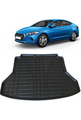 Hyundai Elantra 3D Bagaj Havuzu 2016 ve Sonrası