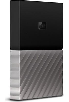 """WD MY Passport Ultra 4TB 2.5"""" USB 3.0 Siyah/Gri Taşınabilir Disk WDBFKT0040BGY"""