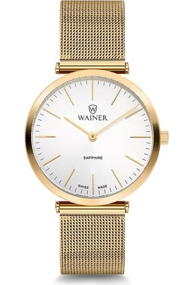 Wainer Wa.11421-B Swiss Made Kadın Kol Saati