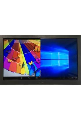 """Jedi Jux AK654K44 Intel Atom Z3735F 1GB 32GB SSD Windows 10 Pro 65"""" UHD Akıllı Tahta"""
