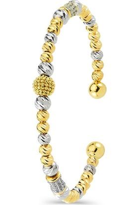 Dhamany Kadın Altın Bilezik- 14 Ayar Altın Bilezik - 9,70 Gr