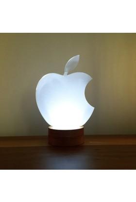 By-Lamp 3 Boyutlu Elma Lamba