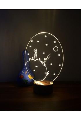 By-Lamp 3 Boyutlu Küçük Prens Lamba