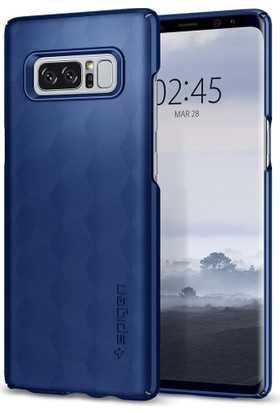 Spigen Samsung Galaxy Note 8 Kılıf Thin Fit Deep Blue - 587CS22054