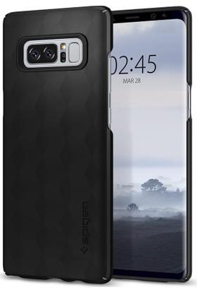 Spigen Samsung Galaxy Note 8 Kılıf Thin Fit Matte Black - 587CS22051