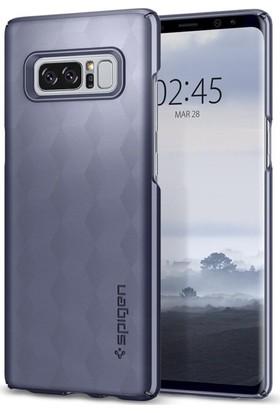 Spigen Samsung Galaxy Note 8 Kılıf Thin Fit Orchid Gray - 587CS22052