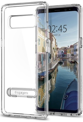 Spigen Samsung Galaxy Note 8 Kılıf Ultra Hybrid S Crystal Clear - 587CS22067