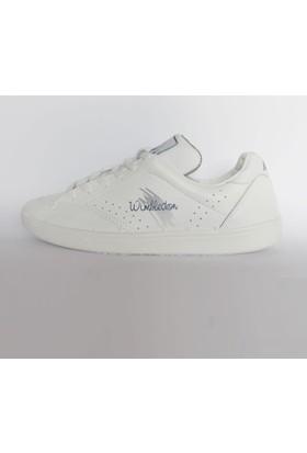 Mekap Wimbledon Deri Beyaz Erkek Spor Ayakkabı