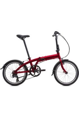 Tern 2017 Model Lınk A7 Katlanır Bisiklet Bordo Renk