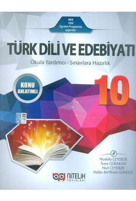 Nitelik 10. Sınıf Türk Dili Ve Edebiyatı Konu Anlatımlı Nitelik Yayınları
