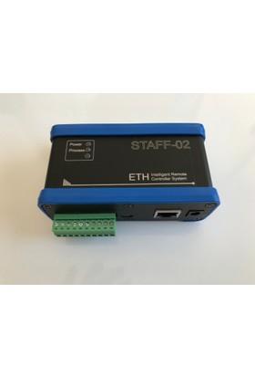 Staff-02 Ethernet Modbus Modem - Seri Port