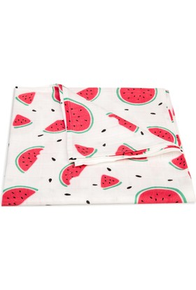 My Puffin Müslin Örtü Watermelon