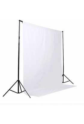 white screen Beyaz Fon Perde (2 X 3 M)