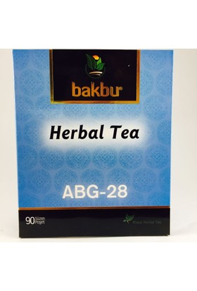 Bakbu Herbal Tea (Abg 28) 90Adet