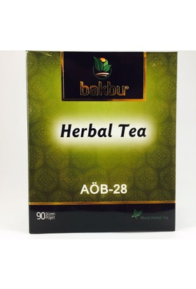 Bakbu Herbal Tea (Aöb 28) 90Adet