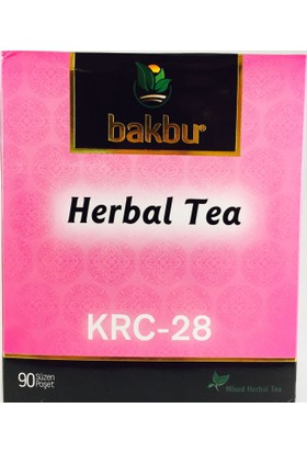 Bakbu Herbal Tea (Krc 28) 90Adet