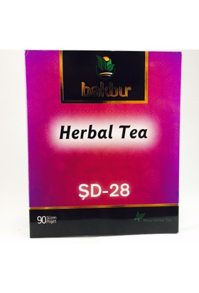 Bakbu Herbal Tea (Şd 28) 90Adet