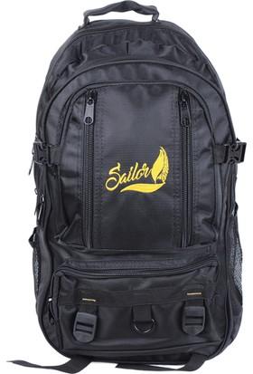 Sailor Sd-3166 Dağcı Siyah Sırt Çantası