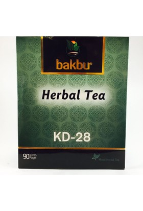 Bakbu Herbal Tea (Kd 28) 90Adet