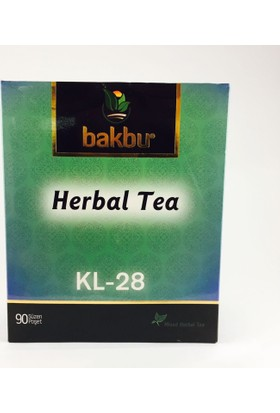 Bakbu Herbal Tea (Kl 28) 90Adet